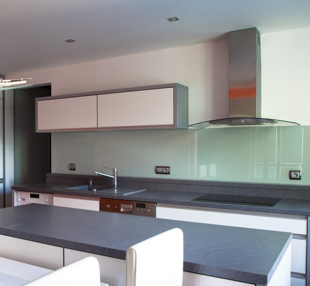 How to Buy a Back Painted Glass Backsplash | Glass Paint ...